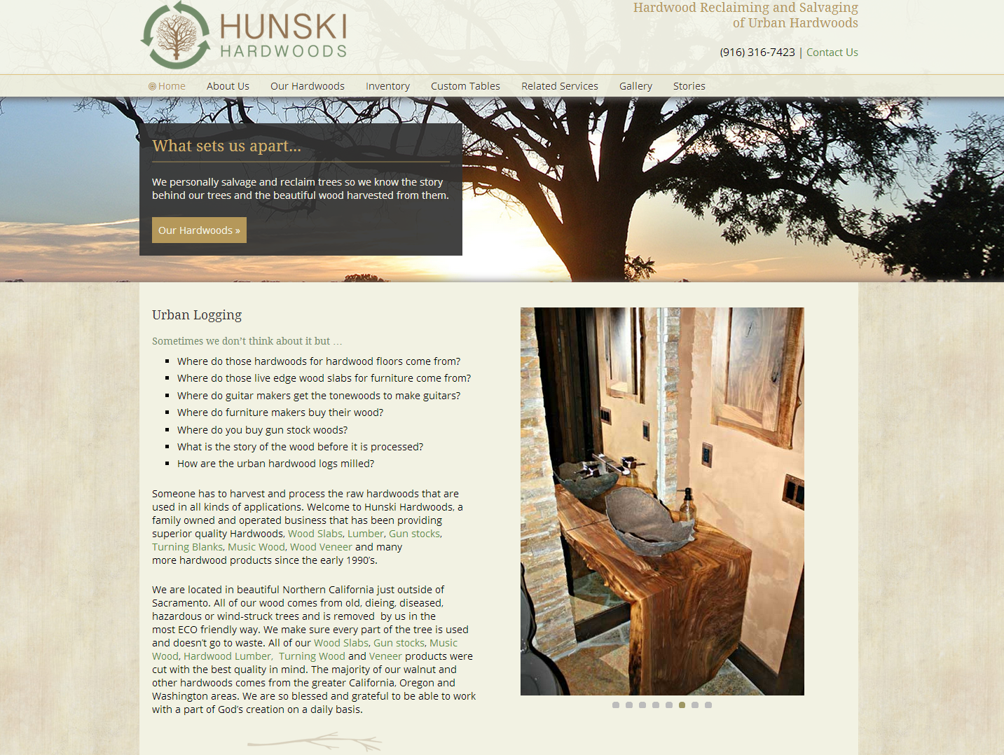 hunskihardwoodswebsite